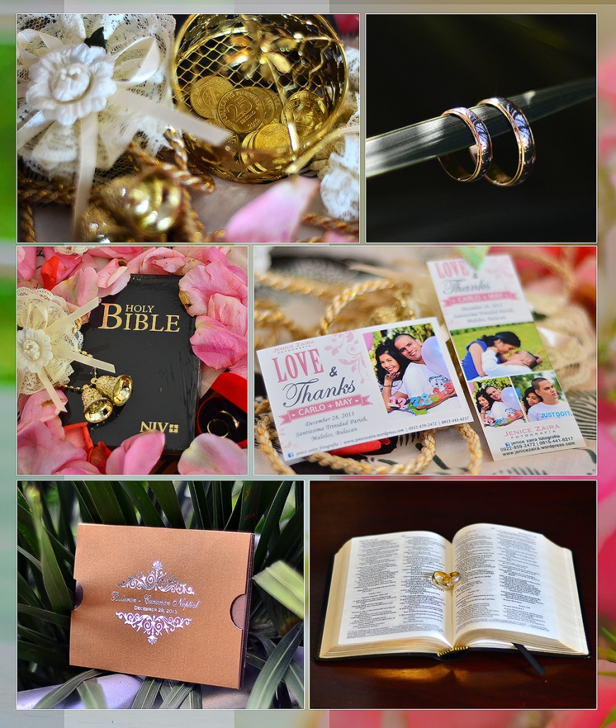 Carlo and May Wedding - Bulacan - wedding accessories