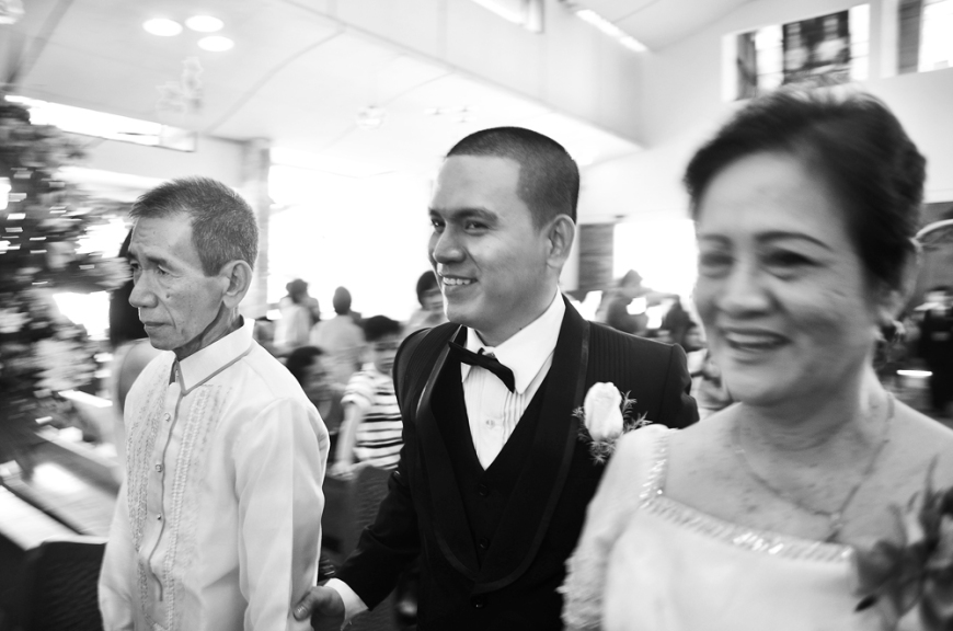 Carlo Buluran & May Cunanan Wedding Jenice Zaira Fotografia, Wedding Photography Philippines, Wedding Photographer, Carlo Buluran & May Cunanan Wedding -  Groom's Entrance