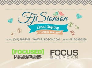 Official Sponsor: Fj Sionson Event Styling
