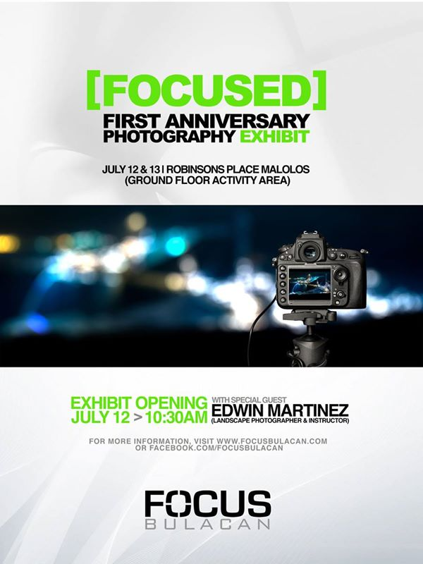 Focus Bulacan  First Anniversary Poster