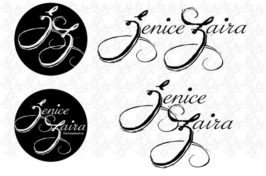 Jenice Zaira Fotografia - Logo Draft