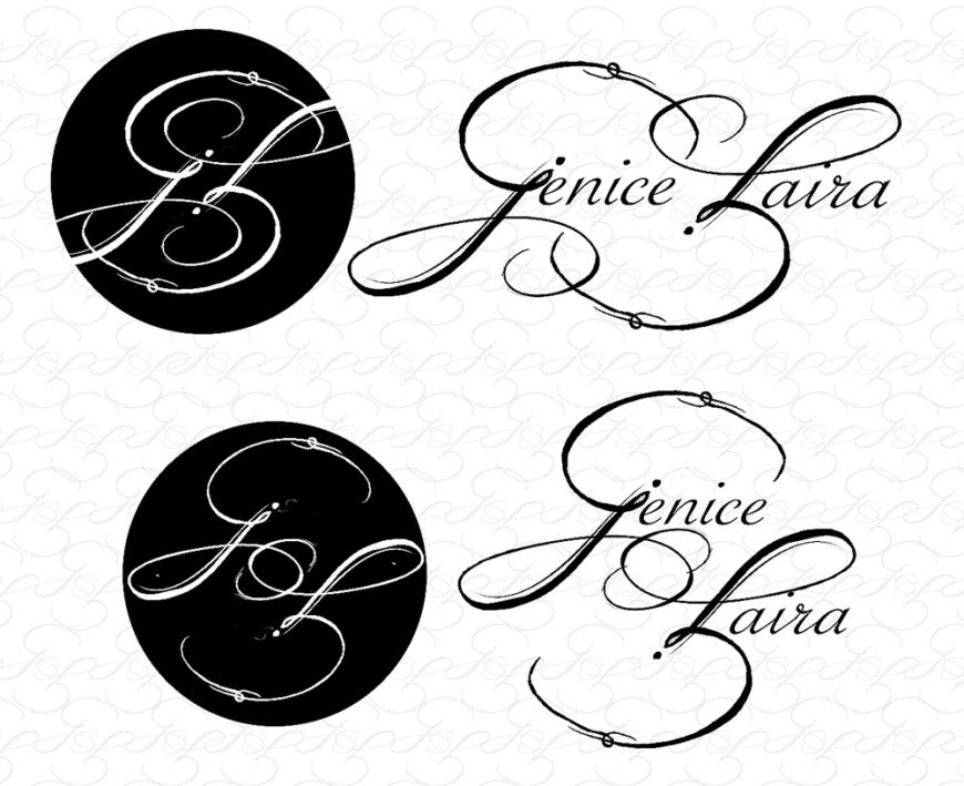 Jenice Zaira Fotografia | Logo | 1st Draft