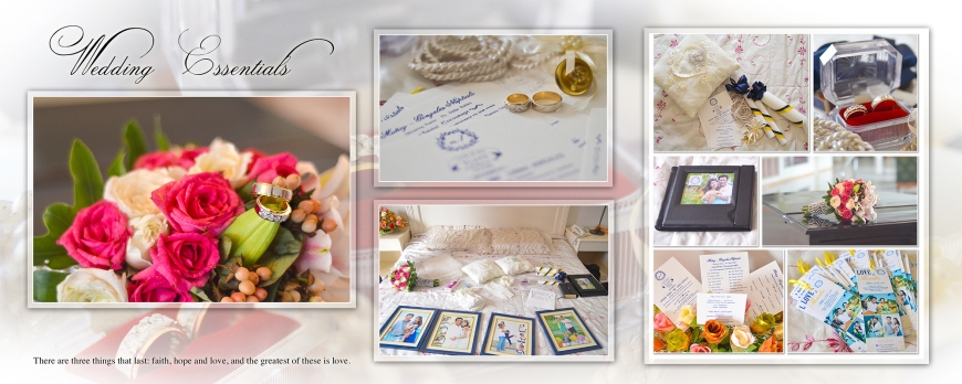 ML-Malolos Bulacan Wedding Photography Album - SPREAD 1- Wedding Accessories