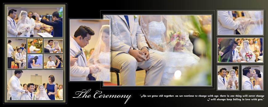 ML-Malolos Bulacan Wedding Photography Album -SPREAD 12- The Wedding Ceremony
