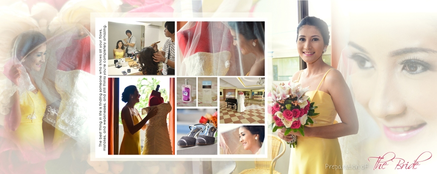 ML-Malolos Bulacan Wedding Photography Album - SPREAD 3- Bride's Preparation & Accessories