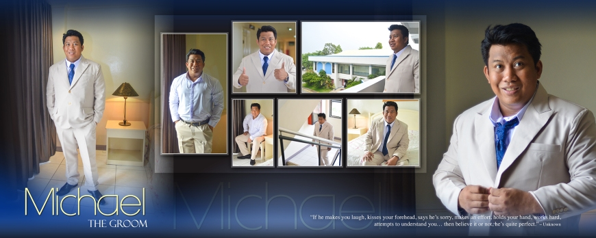 ML-Malolos Bulacan Wedding Photography Album -SPREAD 4-The Groom