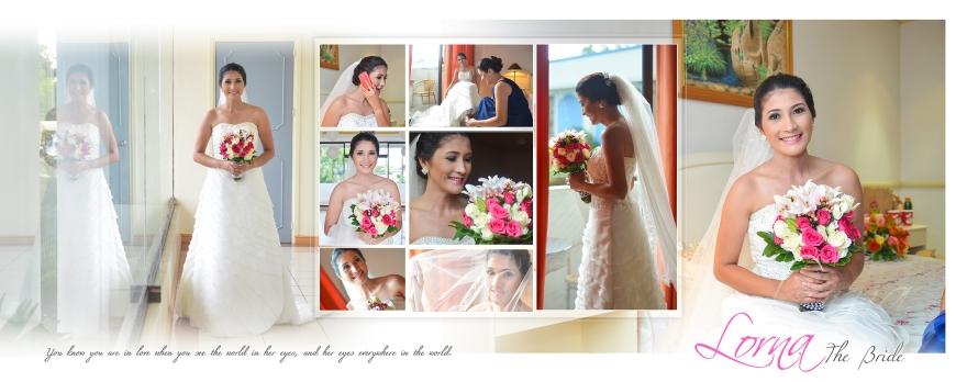 ML-Malolos Bulacan Wedding Photography Album -SPREAD 5- The Bride