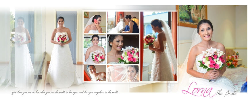 ML-Malolos Bulacan Wedding Photography Album -SPREAD 5- The Bride