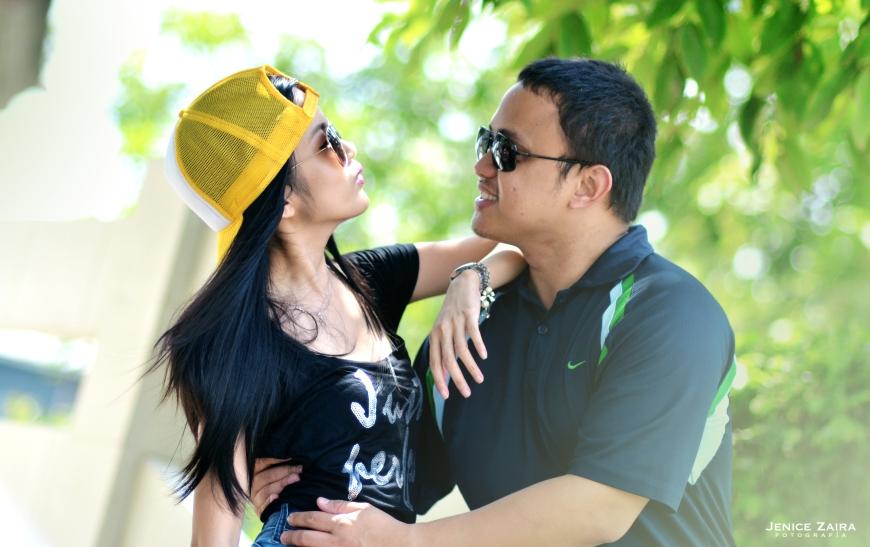 DJ & Juvi - Couple Portraits - Bulacan - kiss
