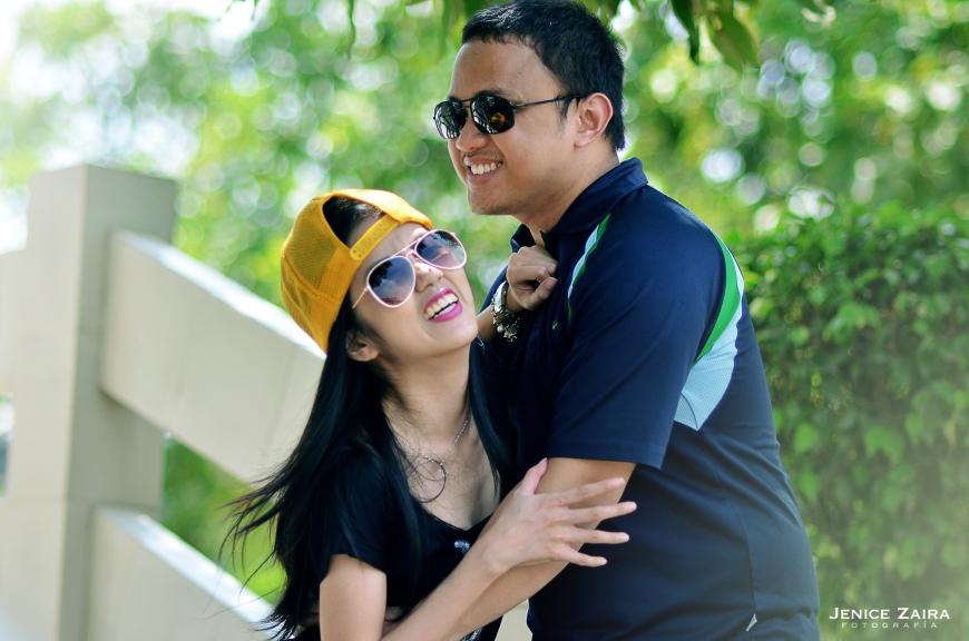 DJ & Juvi - Couple Portraits - Bulacan - laugh