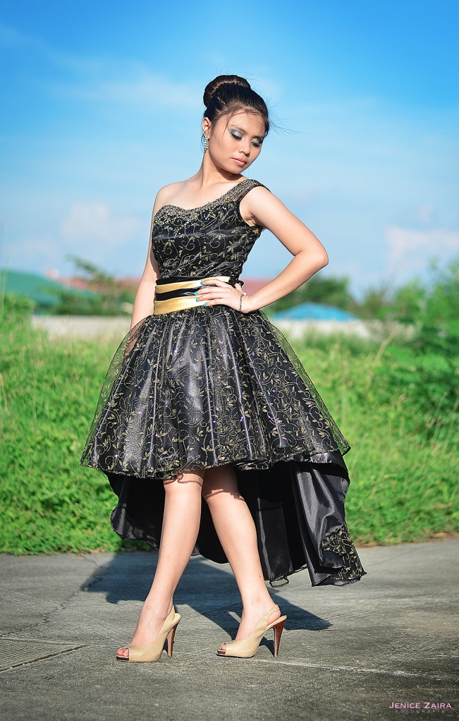 Debut Photography - Bulacan - Janna - black gown